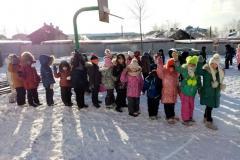 Спортивное развлечение  «День рождение Снеговика» в корпусе №1.